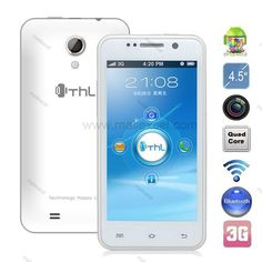 Discount China ThL W100 MTK6589 Quad Core 1G RAM Android 4.2 Smartphone with 4.5'' IPS Screen 3 GGPS [MPNB01THW100]- US$178.00 - www.mallexcel.com