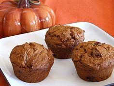 Pumpkin-Gingerbread Muffins