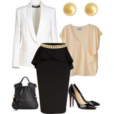 Outfit of the Day #whiteblazer #louboutin #fashion