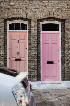 maybe new color for the doors when we repaint the house again? The Doors, Windows And Doors, Front Doors, Beautiful Space, My Dream Home, Interior And Exterior, Interior Design, Interior Paint, Interior Ideas