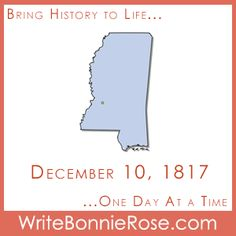 Timeline Worksheet: Today we remember December 10, 1817, the date when Mississippi became the twentieth state in the Union. How much do you know about Mississippi state history? Did you know that people such as Ida B. Wells, Walter Payton, and others are from Mississippi? Have fun testing your knowledge with this printable that includes geography, a timeline quiz (with answer key), and research prompts.