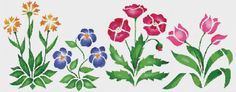 Pink Blue Flower Counted Cross Stitch Pattern Chart    DOWNLOAD PDF PATTERN ONLY!       Fabric: 14 count Aida   Counted Cross Stitch   Stitches: 350 x 137   Size: 25.00 x 9.79 inches or 63.50 x 24.86 cm   Colours: DMC   Count:91   Stencil         XSTCH-00258    You will receive this pattern as a digital download and will need Adobe Acrobat to view it. Adobe Acrobat Reader can be downloaded at www.adobe.com.    All patterns are computer generated and you are receiving the pattern only. You…