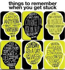 Reminders for when you get stuck. I think it would look great as a poster in a classroom with motivational quotes for students having difficulties Growth Mindset Quotes, Growth Mindset Display, Growth Mindset Lessons, Mindset Quotes Positive, Growth Mindset Classroom, Growth Mindset Activities, Positive Feelings, Positive Behavior, Positive Life