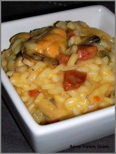 Recette de risotto aux moules et au chorizo
