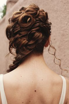 #hairstyles | on #SMP Weddings: http://www.stylemepretty.com/little-black-book-blog/2012/09/25/villa-parker-wedding-inspiration-from-kokoro-photography-la-vie-le-gage-couture-events | Kokoro Photography
