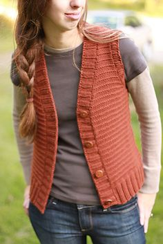 woods road vest. i want to knit all the quince and co.
