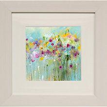 Buy Sue Fenlon- April Showers Framed Print, 35 x 35cm Online at johnlewis.com