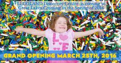 LEGOLAND® Discovery Center Michigan Opening 3/25 and Ticket Giveaway