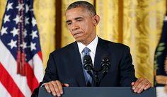 """El presidente Barack Obama dijo el jueves con gran enfado que Estados Unidos había tomado una """"opción política"""" al permitir que ocurran los tiroteos masivos como el de Oregon"""