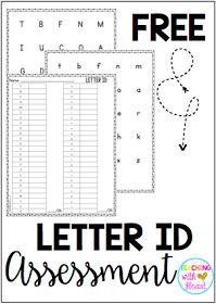 Letter and Sound ID Assessment and Data Tracker- English