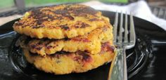 Yum yum and super yum! I didn't use the coconut flour and it still tasted great! Bacon Acorn Squash Patties
