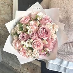Beautiful Rose Flowers, Pink Flowers, Beautiful Flowers, Gardenias, Flower Arrangements Simple, Flower Packaging, Flower Shower, Luxury Flowers, Flower Quotes