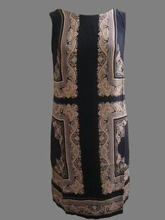 293a37168b NEW MONSOON Navy Blue Paisley Mirror Print Sleeveless Dress 8 to 22 in  Clothes, Shoes