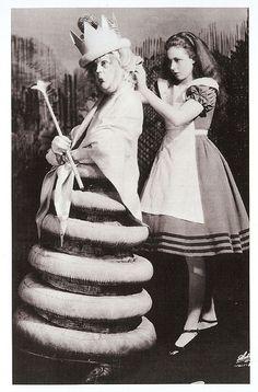 Alice in Wonderland (1933)  Louise Fazenda plays the White Queen