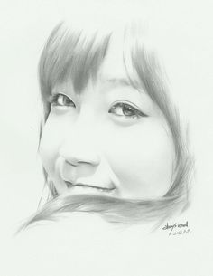 APink EunJi by @uncleDrawing