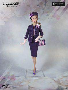 Tenue Outfit Accessoires Pour Fashion Royalty Barbie Silkstone Vintage 1464 | eBay                                                                                                                                                                                 Plus