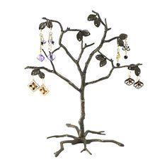 """Pewter 8"""" Tree Earring Display-Rio Grande"""