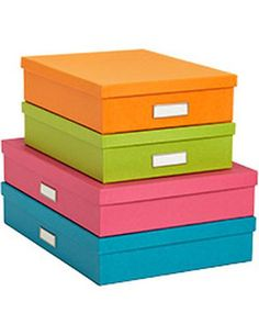 OOOH!  We have these!  We put copier paper, phone & camera charger cords, and kids school papers we want to keep in them.  Fun office storage #OnSale