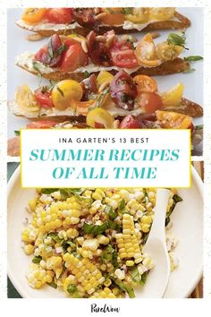 Let's face it: we want to spend our whole summer eating grilled corn salad. Here are 13 of the best Ina Garten summer recipes to recreate the magic at home. Best Ina Garten Recipes, Grilled Corn Salad, Breakfast Recipes, Dinner Recipes, Corn Salads, Summer Recipes, Ground Beef, The Best, Dips