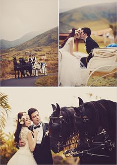 Vintage chic Hawaiian wedding. #weddingchicks Captured By: Tamiz Photography http://www.weddingchicks.com/2014/08/27/maui-wedding/