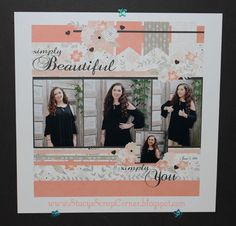 Hello everyone! Last weekend Scrapbook Generation had another online scrap event with tons of challenges. I love their events. They have ...