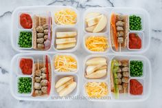 24 grain-free, gluten-free school lunch ideas at What Lisa Cooks