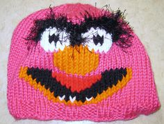Ravelry: Animal Muppet Chart and Beanie Pattern pattern by Jobie Speck