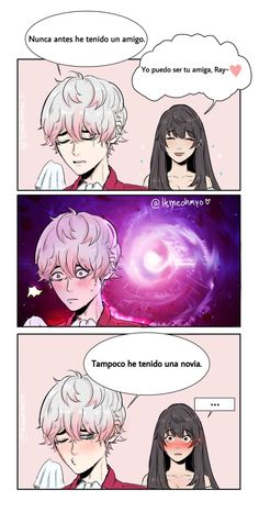 Read from the story Mystic Messenger Cómics en Español by DoesJuminIsGay_ (Eight) with reads. Mystic Messenger Unknown, Mystic Messenger Yoosung, Satsuriku No Tenshi, Demon Slayer, Cool Sketches, Cute Anime Couples, Cute Love, Anime Love, Kawaii Anime