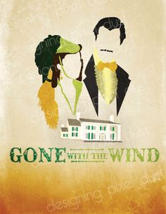 This has got to be my favorite design so far. I have been a huge fan of Gone With The Wind since I was a little girl and loved creating most