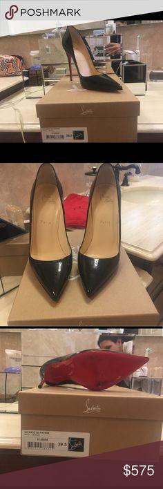 So Kate - Christian Louboutin Black patent leather So Kate. Worn twice Christian Louboutin Shoes Heels