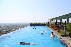 10 Of The Most Unbelievable Sky Pool Designs - Housely Sky Pool, Glass Pool, Beautiful Pools, Hazel Eyes, Quick Hairstyles, Beautiful Person, Pool Designs, Short Hair Styles, Outdoor Decor