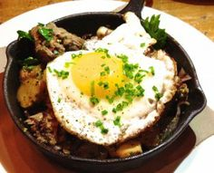 ... , fingerling potatoes and root vegetable hash, seasoned with a g