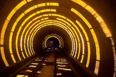 Bund Sightseeing tunnel, Shangaï, Chine