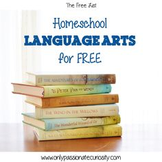 Homeschool Language Arts for Free with lots of links to free language curriculums and resources.