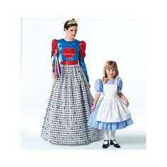 M4948 | Misses'/Children's / Girls' Costumes | View All | McCall's... (5.26 CAD) ❤ liked on Polyvore featuring costumes