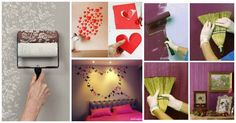 A handy and creative collection of 16 Awesome and Easy DIY Wall Decorating Ideas that will definitely inspire you and give you ideas.