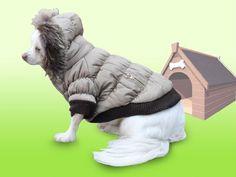 Dicker Steppmantel in grau mit Fell-Kaputze - Winterjacke Hund Bekleidung für Hunde Hundebekleidung und Hundemantel günstig M55 Gr. XS - [ #Germany #Deutschland ] #Bekleidung [ more details at ... http://deutschdesign.apparelique.com/dicker-steppmantel-in-grau-mit-fell-kaputze-winterjacke-hund-bekleidung-fur-hunde-hundebekleidung-und-hundemantel-gunstig-m55-gr-xs/ ]