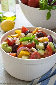 Salads on Pinterest | Tortellini Salad, Pasta Salad and Chopped Salads