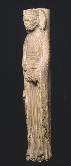 Column Statue of a King - 1150-60 Saint-denis