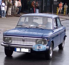 NSU Prinz 1200 - is an automobile produced in West Germany by the NSU Motorenwerke AG. The car was built from 1957 to 1973.
