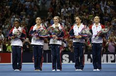 2012 U.S. Olympic Gymnastics Team - Unbelievable, these girls are amazing and I will never understand how they can throw their bodies around the way they do.  Bravo girls, good luck in London.