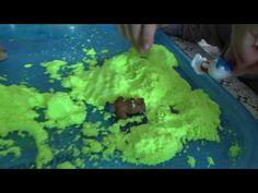 Кинетический песок и его свойства,игры с магическим песком. - YouTube