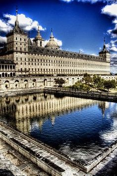 El Escorial monastery, Madrid, Spain.