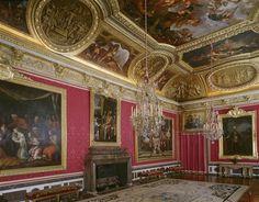 Chateau de Versailles - Salon de Mars -