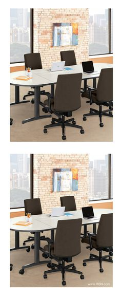 See if you can spot the differences between these two HON office photos. The first person to submit all of the differences to contests@shoplet.com will win a 20% off coupon to Shoplet.com!