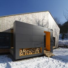 minimalistisches Hausdesign Fassade