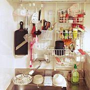 Kitchen/収納/ワンルーム/DIY/一人暮らし/DANSK...などのインテリア実例 - 2014-04-28 11:47:07