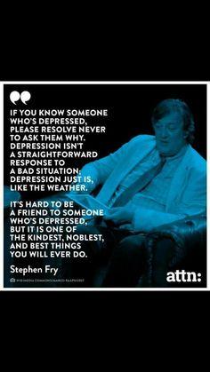 Depressed. ..