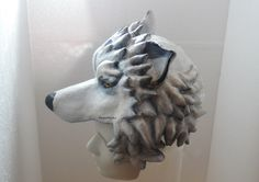 Paper mache Headdress, Head mask