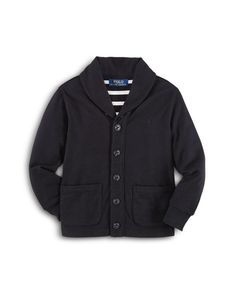 Ralph Lauren Childrenswear Boys' Shawl Collar Cardigan - Sizes 2-7